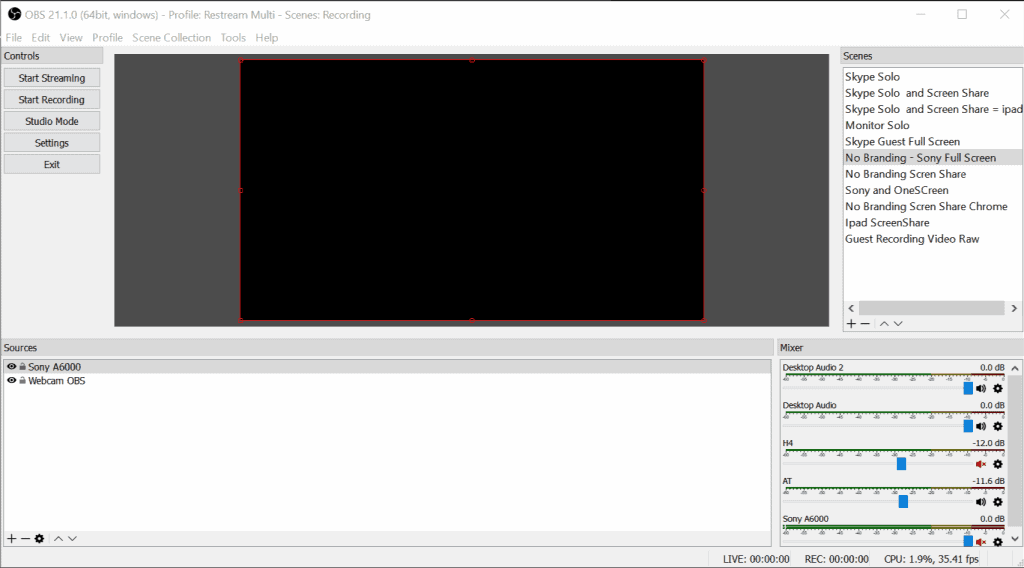 How To Record With - What OBS looks like
