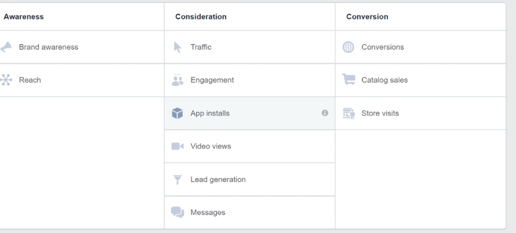 Facebook Boost Post vs Ad Manager - Manager Options